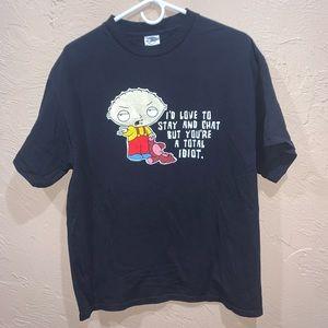 Vintage 2005 Stewie Griffin Family Guy Shirt Fox